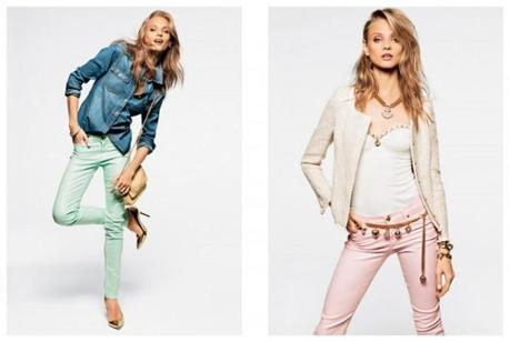 Anna Selezneva, Edita Vilkeviciute and Magdalena Frackowiak for Juicy Couture's Spring 2013 Lookbook2