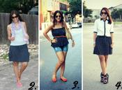 Shopping Link Five Ways Wear Polka Skirt