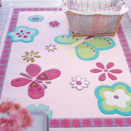 Elgin Flower Kids Area Rug - Designers Guild