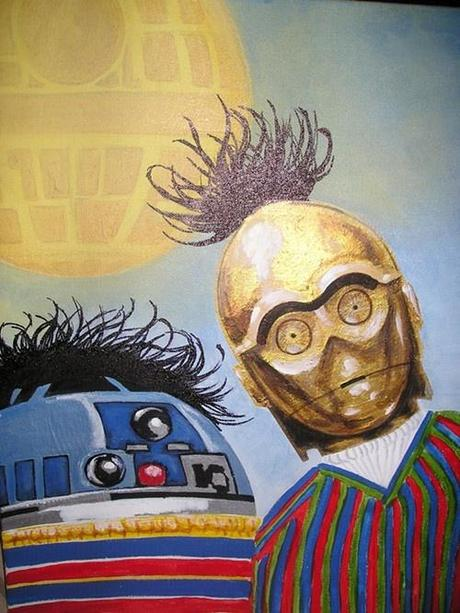 star-wars-daily:  http://Star-Wars-Daily.tumblr.com   I like Star Wars. I like Sesame Street. I don't like this.