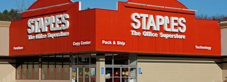 Staples retail store Rt.1, Saugus, Massachusetts USA. (Credit: Anthony92931 / http://commons.wikimedia.org/wiki/User:Anthony92931)