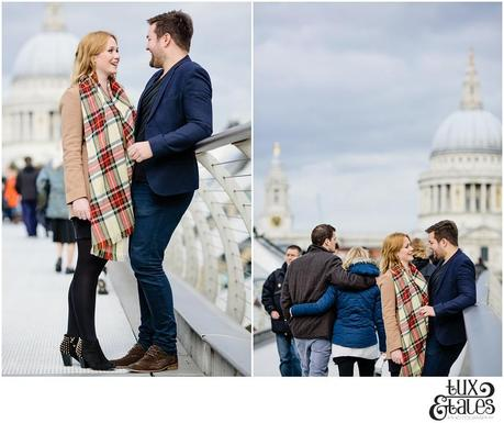 Southbank in Winter | Wedding Photography London