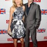 Anna Paquin and Stephen Moyer Great British Film Reception Red Carpet Jonathan Leibson Getty 8