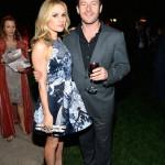 Anna Paquin and Jason Issacs Great British Film Reception-Inside Frazer Harrison Getty