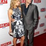 Anna Paquin and Stephen Moyer Great British Film Reception Red Carpet Jonathan Leibson Getty 4