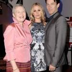 Anna Paquin, Stephen Moyer, Dame Barbara Hey Great British Film Reception-Inside Mike Windle Getty