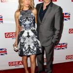 Anna Paquin and Stephen Moyer Great British Film Reception Red Carpet Jonathan Leibson Getty 9