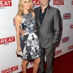 Anna Paquin and Stephen Moyer Great British Film Reception Red Carpet Jonathan Leibson Getty 10