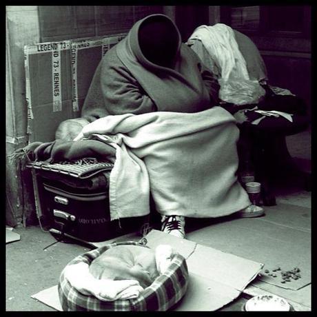 Homeless Faceless Sadness © Eva Charbit