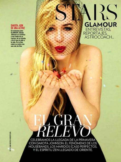 Dakota Johnson by Kim Myers Robertson for Glamour Spain March 2013