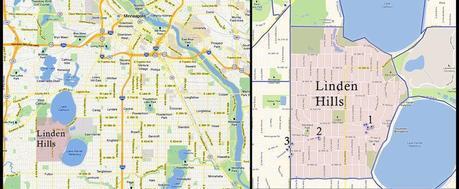 Linden Hills Map