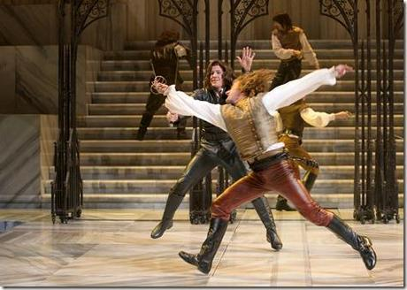 Samuel Ashdown and Jeb Burris - Romeo and Juliet, Chicago Shakespeare Theater