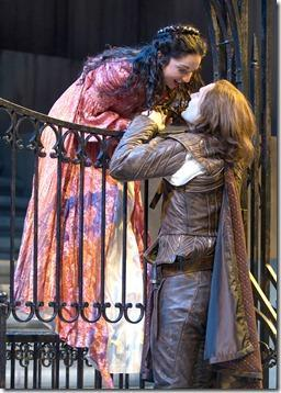 Christopher Allen and Laura Rook - Romeo and Juliet, Chicago Shakespeare Theater