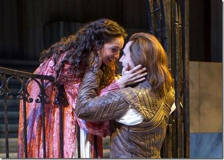 Laura Rook and Christopher Allen - Romeo and Juliet, Chicago Shakespeare Theater