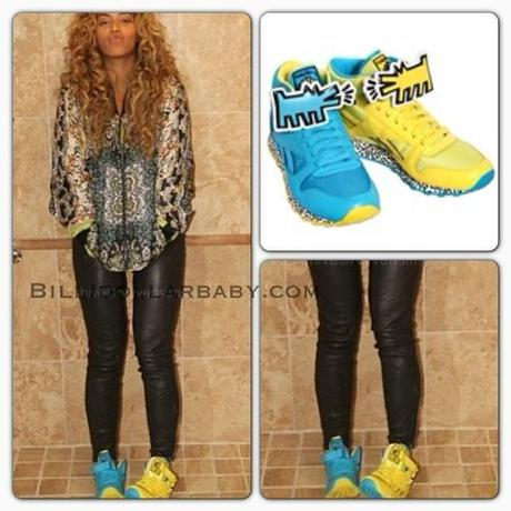 Celeb Style:  Beyonce posted a new photo on her blog wearing a...