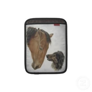 Horse and Dog iPad Sleeve rickshaw_sleeve