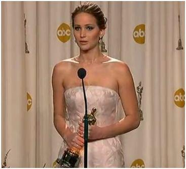 Jennifer Lawrence Wins Best Actress Oscars 2013 [Video]