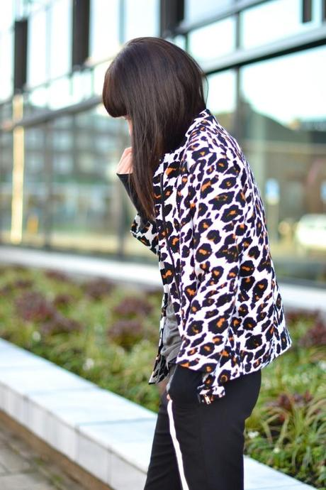 bright leopard h&m trend jacket inspiration