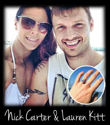 nick carter and laure kitt