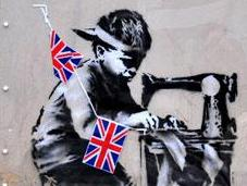 Banksy Artwork Removed from North London Sale Appears
