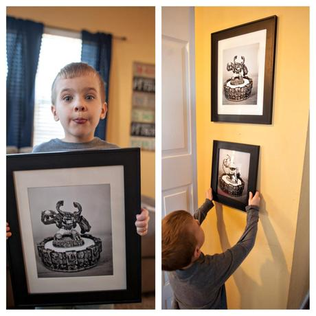 Skylanders Kids Wall Art! {Are we creative or just cheap? Does it matter?}