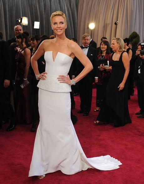 Charlize Theron at the Oscars 2013