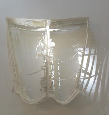 paper arts | cut paper assemblages