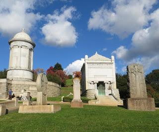 MOUNTAIN VIEW CEMETERY: in Oakland, CA--Bankers, Chocolate Kings and Ordinary People