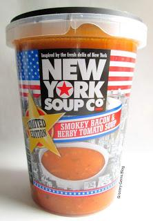 New York Soup Co Smokey Bacon & Herby Tomato Soup Limited Edition