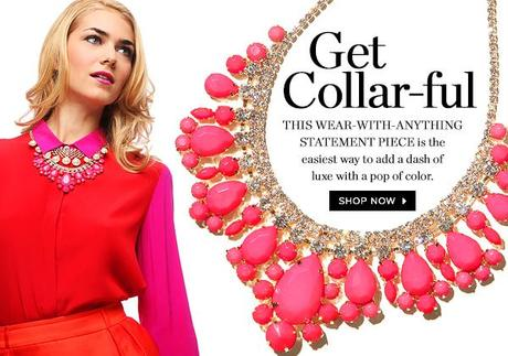 accessory snow bib baublebar collar necklace trends 2013 covet her closet sale promo code free shipping how to tutorial