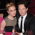 Anna Paquin and Stephen Moyer Elton John 21st Annual Oscar Viewing Party Jamie McCarthy Getty 2