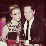 Anna Paquin and Stephen Moyer Elton John 21st Annual Oscar Viewing Party Jamie McCarthy Getty