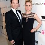 Anna Paquin and Stephen Moyer Elton John 21st Annual Oscar Viewing Party Jason Kempin Getty