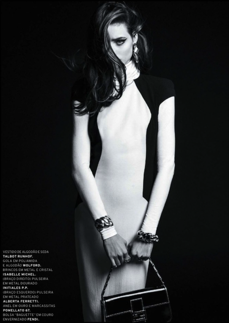 Carolina Thaler by Thanassis Krikis for L'Officiel Brazil March 2013 4