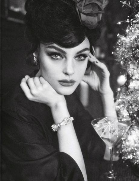 Jessica Stam by Sofia Sanchez & Mauro Mongiello for Numéro #141 March 2013