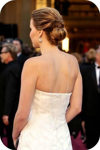 Jennifer Lawrence's 2013 Oscars Hair How-To Featuring Leonor Greyl