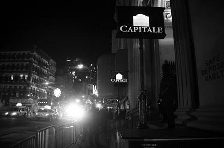 Matte Black014 CHAIRLIFT HIGHLIGHTED BLACK EVENT AT CAPITALE [PHOTOS]