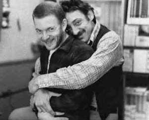 Harvey Milk (on the right).