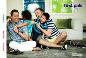 JCPenney Father's Day ad with homosexual couple.