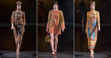 Dolce & Gabbana Fall/Winter 2013 Ready to Wear  | Milan...
