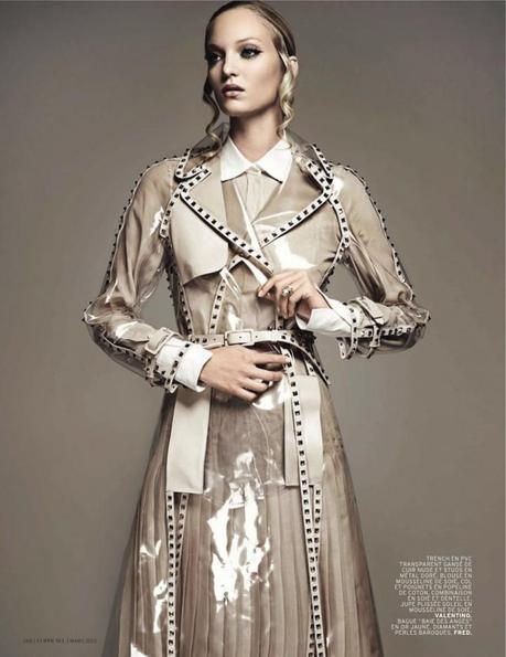 Theres Alexandersson for L'Officiel Paris March 2013 by Jonathan Segade 4