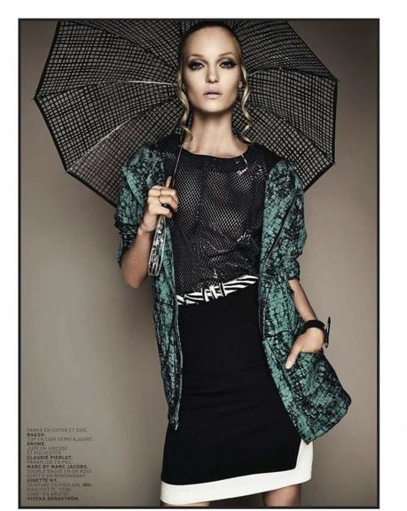 Theres Alexandersson for L'Officiel Paris March 2013 by Jonathan Segade2