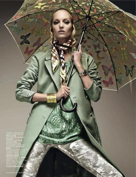 Theres Alexandersson for L'Officiel Paris March 2013 by Jonathan Segade 5