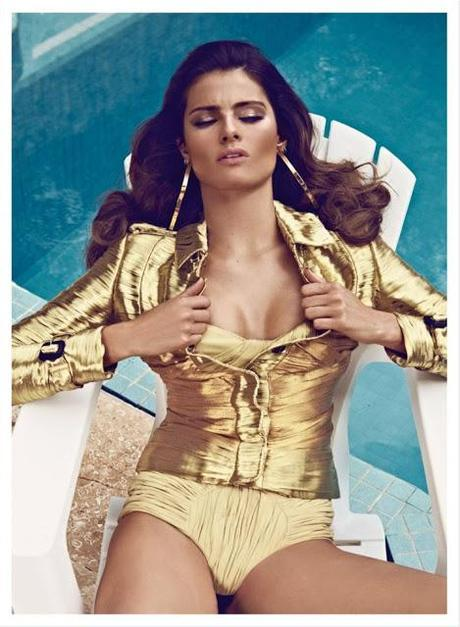 ISABELI FONTANA FOR VOGUE LATIN AMERICA'S MARCH COVER SHOOT