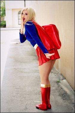 Callie Cosplay - Supergirl