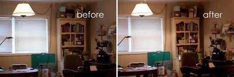 our family room mini-makeover with GE Reveal Light Bulbs #CBias #SocialFabric