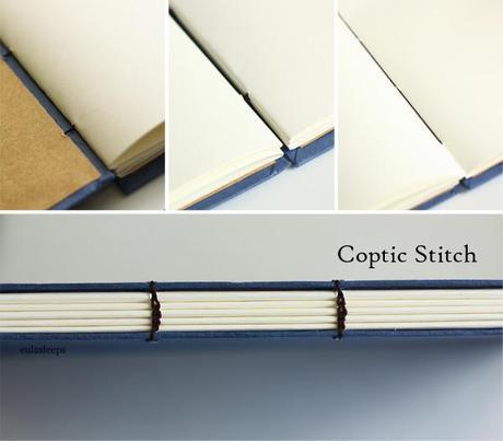 Book-binding: makes me miss suturing
