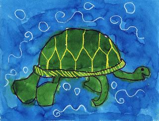 Sea Turtle Painting