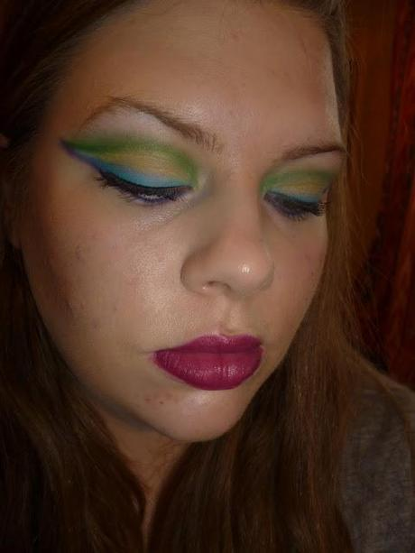 Weekly Make Up Tag - Peacock