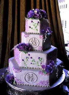 Purple Wedding Day
